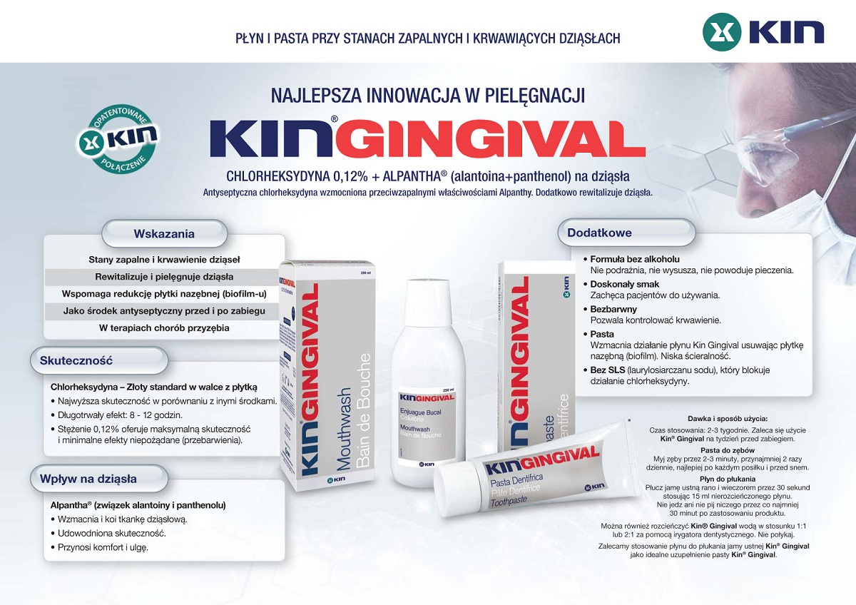 Broszura KIN Gingival ALPANTHA 1200x850