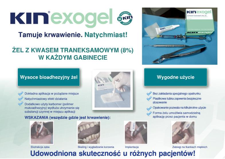 Plakat Kin Exogel